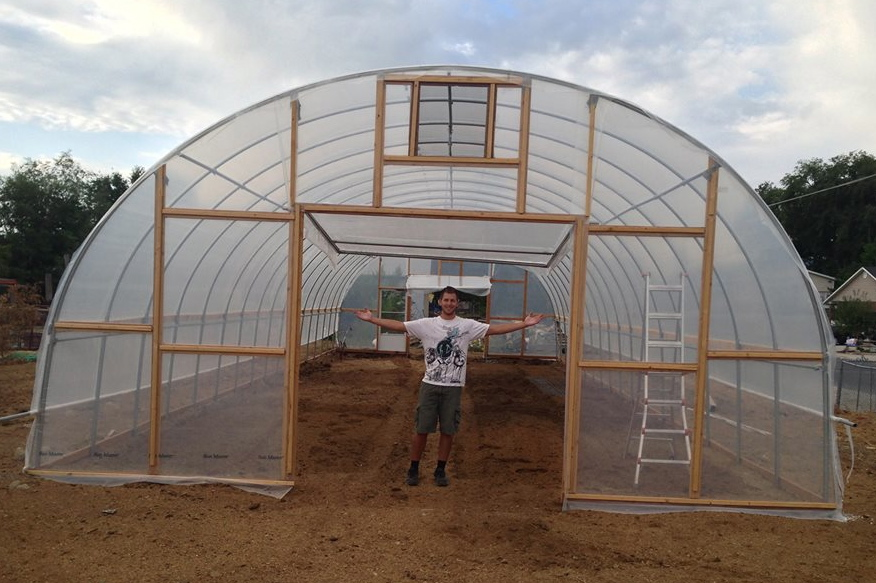 Architectural Design For Greenhouse Metal Greenhouses